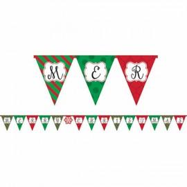 Pennant Banner Merry Christmas