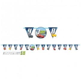 Cars 3 Add An Age Banner Happy Birthday