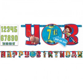 Toy Story 3 Banner Letter Add An Age