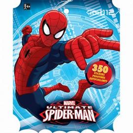 Spiderman Sticker Book Jumbo Favor 350 Stickers