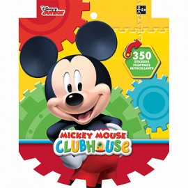 Mickey Mouse Sticker Book Jumbo Favor 350 Stickers