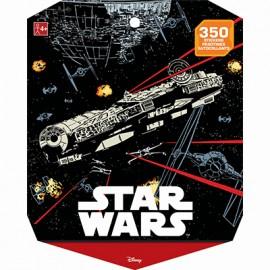 Star Wars Classic Sticker Book Jumbo Favor 350 Stickers