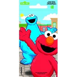 Sesame Street Jumbo Sticker Favors PK24