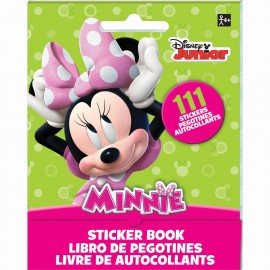 Minnie Mouse Stickers Book Favor