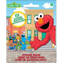 Sesame Street Stickers Book Favor