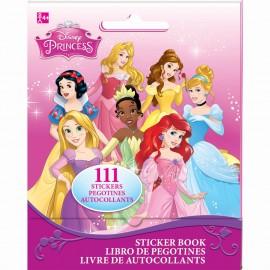 Disney Princesses Stickers Book Favor