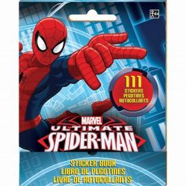 Spiderman Stickers Book Favor