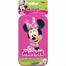 Minnie Mouse Sticker Activity Kit Plastic Case