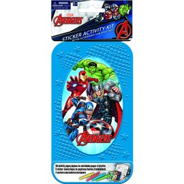 Avengers Sticker Activity Kit Plastic Case