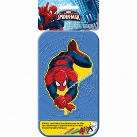 Spiderman Sticker Activity Kit Plastic Case