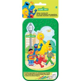 Sesame Street Sticker Activity Kit Plastic Case