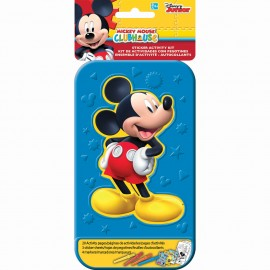 Mickey Mouse Sticker Activity Kit Plastic Case