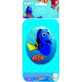 Finding Dory Sticker Activity Kit Plastic Case