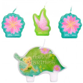 Tinker Bell Mini Candle Set & Best Friends Fairies