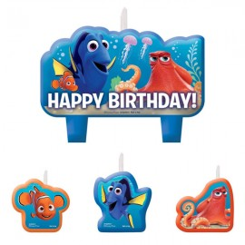 Finding Dory Mini Candles Set Happy Birthday
