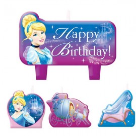 Cinderella Candle, Mini Moulded Set