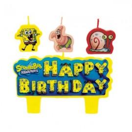 SpongeBob Square Pants Candles,