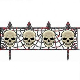 Decoration Skull Fence Multipack