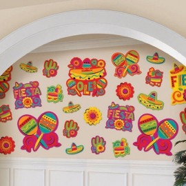 Cutouts Fiesta Assorted Value Pack,