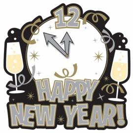 Cutout New Years Elegant,