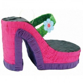 Pinata Platform Shoe with strap