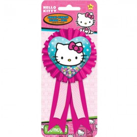 Hello Kitty Rainbow Confetti Pouch Award Ribbon
