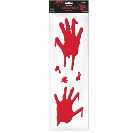 Asylum Bloody Hands Gel Clings