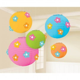Lanterns with Hibiscus Flower Add Ons