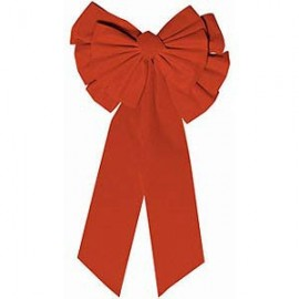 Bow Red Large (67cm High x 35cm Wide)