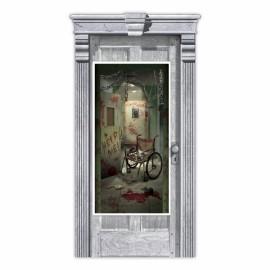 Door Cover Asylum Corridor of Doors
