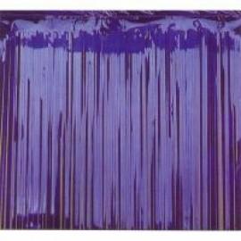 Metallic Curtain - Blue.