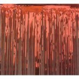 Metallic Curtain - Red.