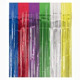 Metallic Curtain - Multi -Coloured