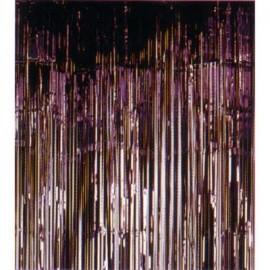 Metallic Curtain - Black.