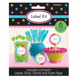 Label Kit for Containers - Multi Coloured