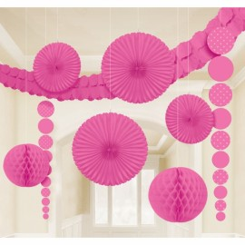 Decorating Kit - Bright Pink & Dots