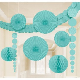 Decorating Kit - Damask Robin's Egg Blue