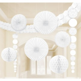 Decorating Kit - Damask White