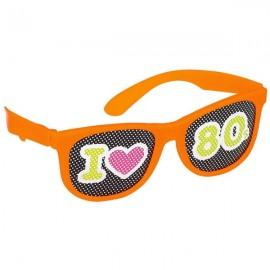 Totally 80's Glasses, Printed Lenses