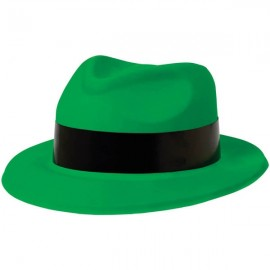Totally 80's Fedora Green Hat