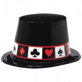 Place Your Bets Casino Top Hat Plastic