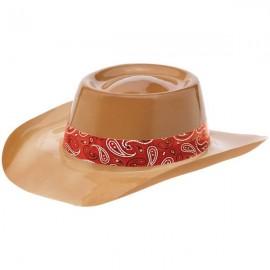 Bandana & Blue Jeans Cowboy Hat Plastic