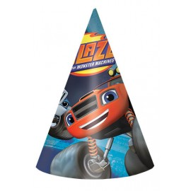 Blaze & The Monster Machines Hats Cone Shaped