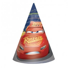 Cars 3 Cone Hats & Elastic Straps