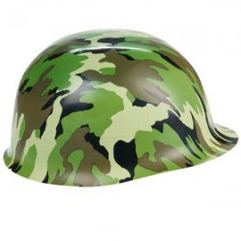 Camouflage Army Hat Plastic
