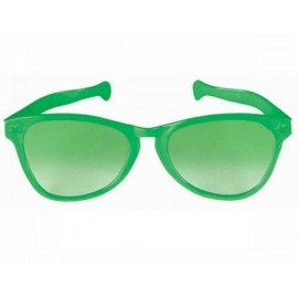 Giant Sunglasses Green Plastic