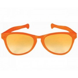 Giant Sunglasses Orange Plastic