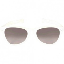 Giant Sunglasses White Plastic
