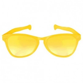Giant Sunglasses Yellow Plastic