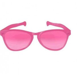 Giant Sunglasses Pink Plastic